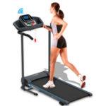 SereneLife Electric Folding Treadmill Exercise Machine