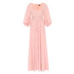 STAUD Juliette cotton-blend dress