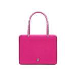 Amina Muaddi Super Amini Gilda Crystal-Embellished Satin Box Bag