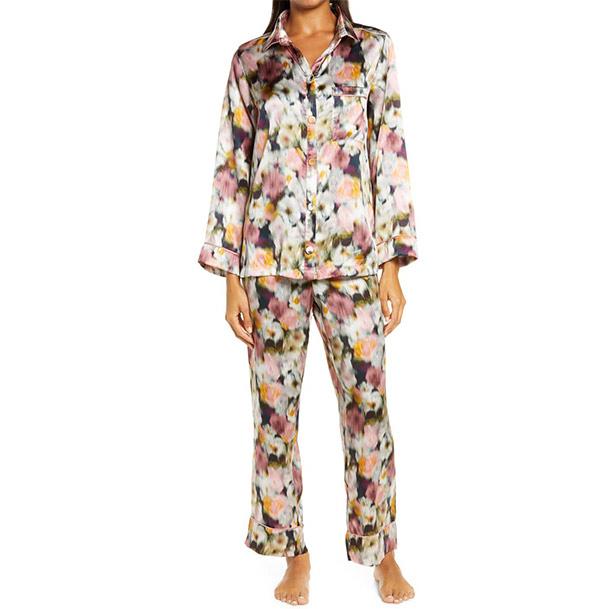 Papinelle Liberty of London Hazy Days Silk Pajamas