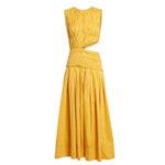 AJE Cascade Cut-Out Midi Dress