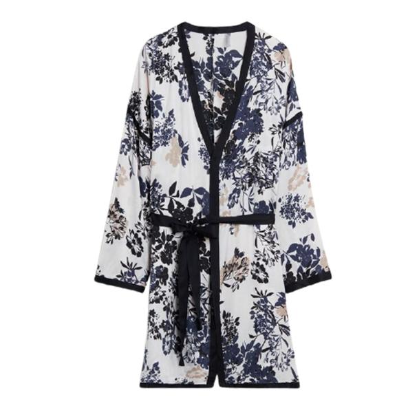 Delicate Blossom Viscose Rayon Kimono