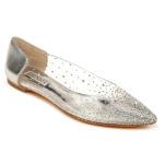 BADGLEY MISCHKA COLLECTION Gabi Embellished Pointed Toe Flat