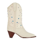 ISABEL MARANT Luliette Studded Canvas Boots