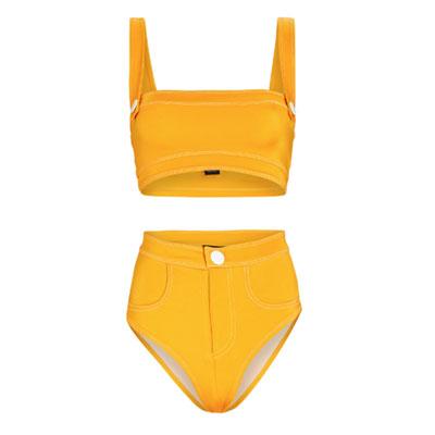 Oye Swimwear Lavania Bandeau Bikini Set
